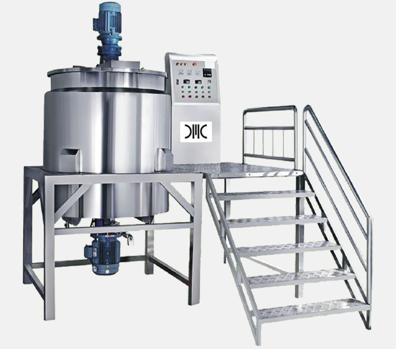 Mixer And Homogenizer Mixer Without Vacuum