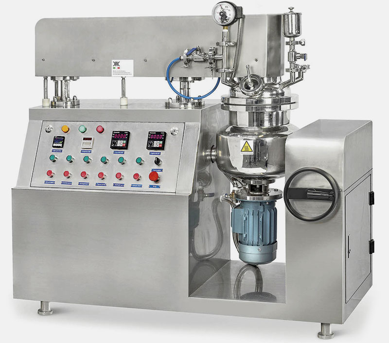 Vacuum Under-Homogenizer Mixer