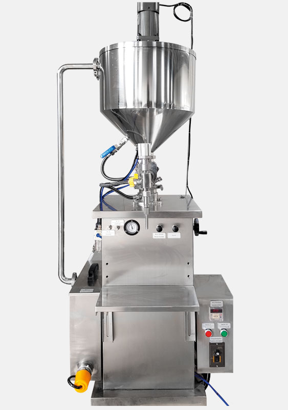 Semi-automatic vertical Filling Machine with heating